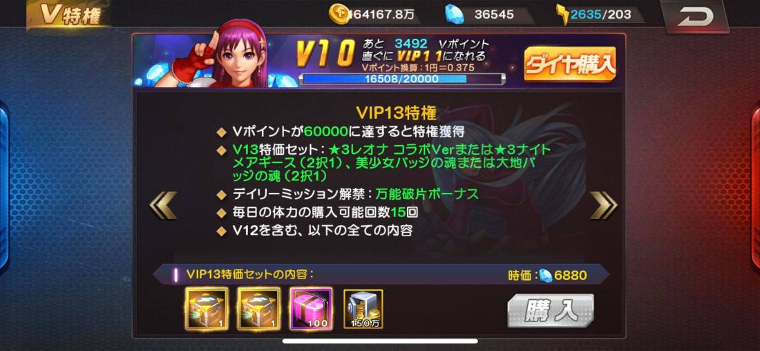 vip 13